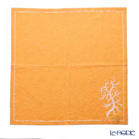 ジムトンプソン リネンナプキン 1489695Cサンゴ オレンジ