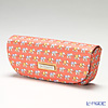 Jim Thompson 'Elephant Chain' Orange PSB5804B Eyewear Case 16x6cm