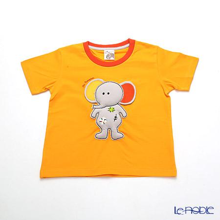 ジムトンプソン 子供服 Tシャツ 3Y(3-4歳) ゾウトイ/オレンジ