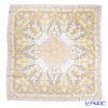 Jim Thompson 'Wat' Beige / Lilac WS303/8838E Silk Square Scarf 105x105cm