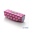 Jim Thompson 'Elephant Chain' Pink 1135804D Lipstick Case 8.5x2.5cm