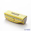 Jim Thompson 'Grey Elephants Line' Yellow 1136250Q Lipstick Case 8.5x2.5cm
