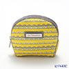 Jim Thompson 'Grey Elephants Line' Yellow 1136250Q Coin Purse 9.5x8.5cm