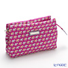 Jim Thompson 'Elephant Chain' Pink 1135804D Cosmetic Pouch 18x10cm