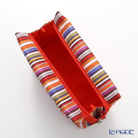 Jim Thompson 'Colorful Stripe' 1136253A Cosmetic Pouch 18x10cm