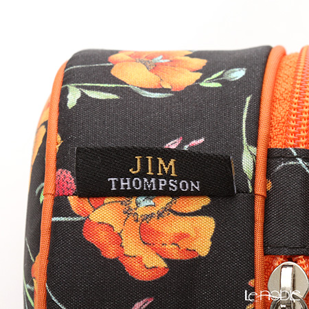 Jim Thompson's round map case 1136252A Meduflower black
