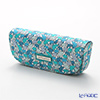 Jim Thompson 'Elephant silhouette' Aqua Blue Green 1136251A Eyewear Case 16x6cm