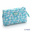 Jim Thompson 'Elephant silhouette' Aqua Blue Green 1136251A Cosmetic Pouch 18x10cm