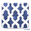 Thompson Cushion cover 2121 / 01 T Blue and white 45 x 45