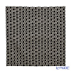 Jim Thompson 'Honeycomb' Black 3546/16 T Ruffled Cushion Cover 50x50cm