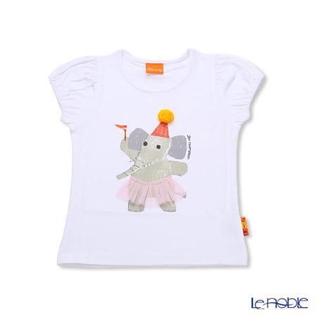 ジムトンプソン 子供服 Tシャツ 3Y(3-4歳)ドレスアップエリー/ホワイト
