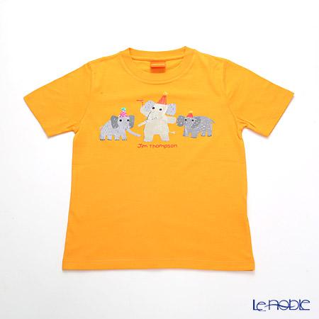 ジムトンプソン 子供服 Tシャツ S(4-7歳) バースデーエリー/オレンジ