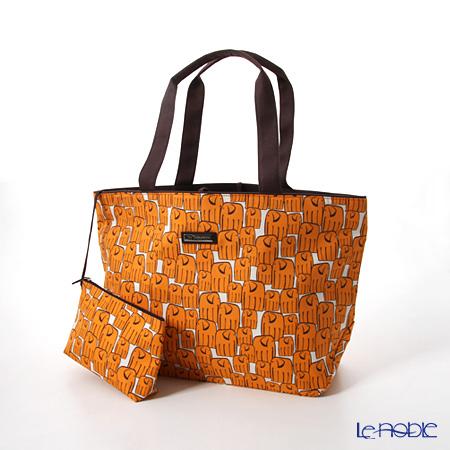 ジムトンプソン トート(L) PCB6449Aゾウロング オレンジ