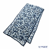 Jim Thompson silk long scarf 1428961A Blue flower dreams