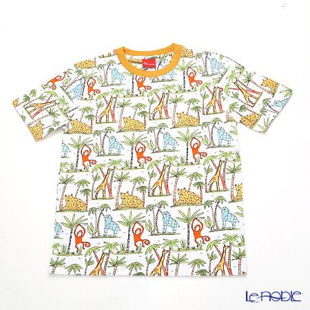 ジムトンプソン 子供服 Tシャツ M(8-11歳)ゾウ/モンキー/チーター/ジラフ