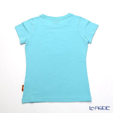 ジムトンプソン 子供服 Tシャツ M(8-11歳)ゾウレインボウ/ターコイズ