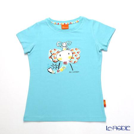 ジムトンプソン 子供服 Tシャツ M(8-11歳) ゾウレインボウ/ターコイズ