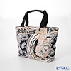 Jim Thompson 'Paisley' Beige Black PCB4810D Fiji Tote Bag 32x27.5cm