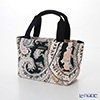 Jim Thompson 'Paisley' Beige Black PCB4810D Sorrento Tote Bag 39.5x19.5cm