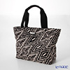 Jim Thompson 'Zig-zag' Black / White PCB6409A Fiji Tote Bag 32x27.5cm