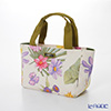 Jim Thompson 'Pink Purple Orange Flower' White PCB6391A Sorrento Tote Bag 39.5x19.5cm