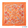 Jim Thompson silk scarf square PSB8993B Flower gate/Orange
