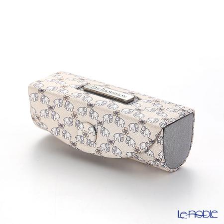 ジムトンプソン リップケース 1135521C ゾウ2 ホワイト バタフライグレー