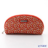 Jim Thompson 'Elephant Drop' Orange 1136360B Oval Pouch 17x10cm