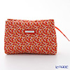 Jim Thompson 'Elephant Drop' Orange 1136360B Cosmetic Pouch 17.5x11cm