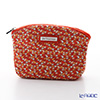 Jim Thompson 'Elephant Drop' Orange 1136360B Cosmetic Pouch 14x10cm (S)