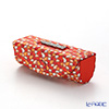 Jim Thompson 'Elephant Drop' Orange 1136360B Lipstick Case 8.5x2.5cm