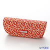 Jim Thompson 'Elephant Drop' Orange 1136360B Eyewear Case 16x6cm