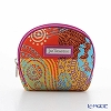 Jim Thompson 'Ancient Pattern Mix' Red Orange 1136416A Coin Purse 9.5x8cm