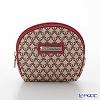 Jim Thompson 'Khonthai' Beige & Pink 1136438A Coin Purse 9.5x8cm