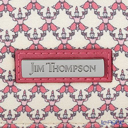 ジムトンプソン メガネケースハード 1136438Aコン タイ ベージュ/ピンク