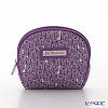 Jim Thompson 'Long Elephant' Purple 1136442A Coin Purse 9.5x8cm