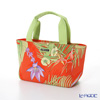 Jim Thompson 'Tropical Plant & Flower' Orange PCB6288B Sorrento Tote Bag 39.5x19.5cm