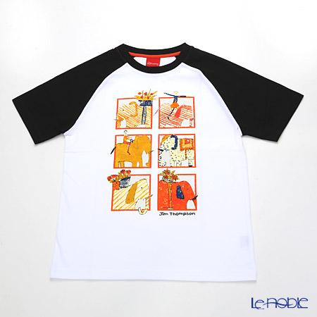 ジムトンプソン 子供服 Tシャツ M(8-11歳)ゾウサファリ