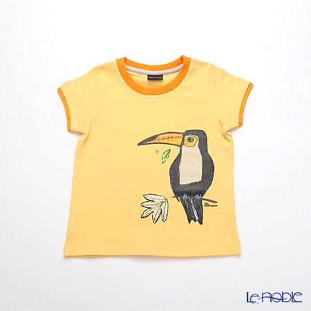 ジムトンプソン 子供服 Tシャツ 3Y(3-4歳)ホーンビルバード/オレンジ