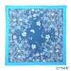 ジムトンプソン シルクスカーフ スクエア PSB80003BメドウフラワーB/スカイブルー/ブルー