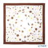 Jim Thompson silk scarf square PSB80003D Meduflower B / brown / beige