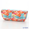 Jim Thompson 'Orange Lotus Flower Blue Leaf' Pink 11310046B Eyewear Case 16x6cm