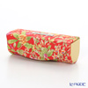 Jim Thompson 'Yellow Pink Little Flower' Red / Yellow 11310044E Lipstick Case 8.5x2.5cm