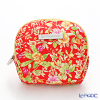 Jim Thompson 'Yellow Pink Little Flower' Red / Yellow 1310044E Coin Purse 9.5x8.5cm