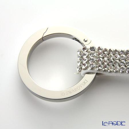 Swarovski 'Alice / White' Stainless Steel SW860475 Key Ring