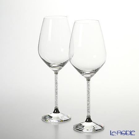 スワロフスキー Crystalline 赤ワイングラス(2個セット)SWV1-095-948