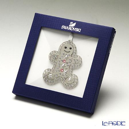 Swarovski Christmas Ornament Gingerbread Man SWV5-004-499
