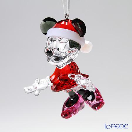 スワロフスキー ミニーマウス クリスマスオーナメントSWV5-004-687