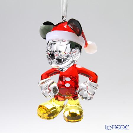 スワロフスキー ミッキーマウス クリスマスオーナメントSWV5-004-690
