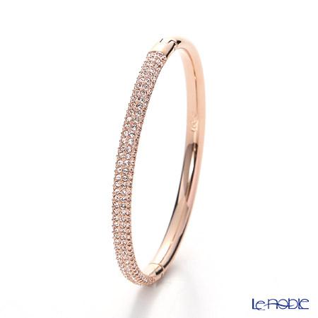 Swarovski 'Stone - Mini / White' Rose Gold SW5032850 Bangle (M)